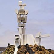 Monumento Al Campesino On Lanzarote Art Print