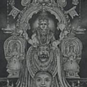 Mookambika Devi Art Print by Asha Sasikumar