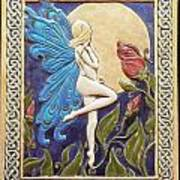 Moon Fairy Print by Shannon Gresham