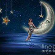 Moon Goddess Art Print by Juli Scalzi