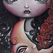 Moon Keeper Print by  Abril Andrade Griffith