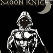 Moon Knight The White Knight Art Print
