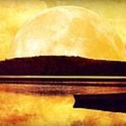 Moon Landscape Art Print