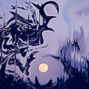Moon Madness Art Print