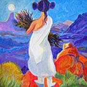 Moon Maiden Art Print