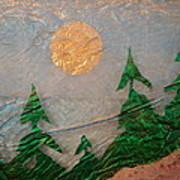 Moon Mist  Art Print