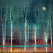 Moon River Art Print by William Schmid