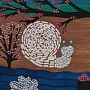 Moon Snail Bella Coola Art Print