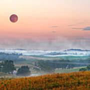 Moon Valley Morning Art Print