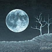 Moon Worship Art Print