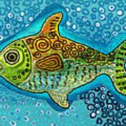 Moonfish Art Print