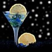Creative - Moonlight Dark Star Cocktail Lemon Flavoured 1 Art Print