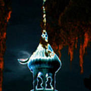 Moonlight Minaret Art Print