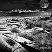 Moonlight On The Bay Art Print