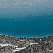 Moonrise Over The Mountain Art Print