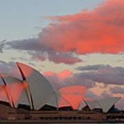 Moonrise - Sydney Opera House Art Print