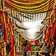 Moorish Market In Granada 2 Art Print