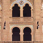Moorish Windows Madrid Art Print