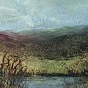 Moorland View 2 Art Print