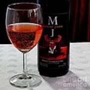 Moose Joose - Blueberry Partridgeberry Wine  Art Print