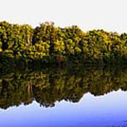 Moraine View State Park Pano 20140718-01 Art Print