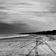 More Beach Tracks Art Print