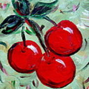 More Cherries Art Print