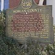 Morgan County Art Print