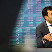 Morgan Stanley Investment Chief Global Strategist Ruchir Sharma Interview  Art Print