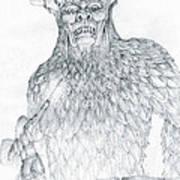 Morgoth And Fingolfin Art Print