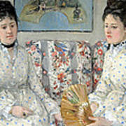 Morisot's The Sisters Art Print
