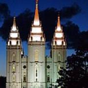 Mormon Temple Lds Utah Art Print