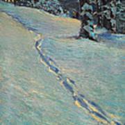Morning After Snow Art Print