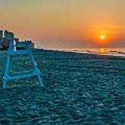 morning at  Myrtle Beach South Carolina Art Print