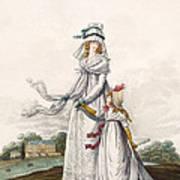 Morning Dresses, Fig. 63 & Fig. 64 Art Print