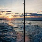 Morning Fishing Art Print