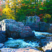 Morning In Eau Claire Dells Art Print