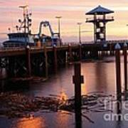 Morning Light At Port Angeles Art Print