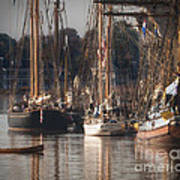 Morning Light - Chestertown Downrigging Weekend Art Print by Lauren Brice