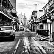 Morning On Bourbon Street Art Print