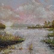 Morning On The Lake Art Print