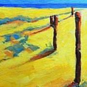 Morning Sun At The Beach Art Print