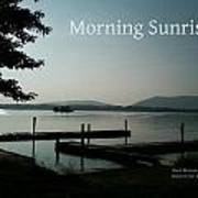 Morning Sunrise By Angela Art Print