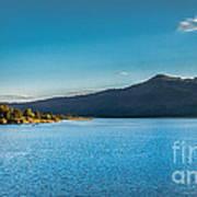 Morning View Of Cascade Reservoir  Art Print