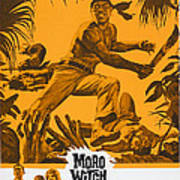 Moro Witch Doctor, Us Poster Art, 1964 Art Print