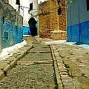 Moroccan Road Art Print