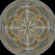 Morphed Art Globes 25 Art Print