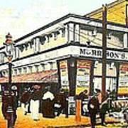 Morrison's Theatre In Rockaway Beach Queens N Y 1912 Art Print