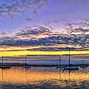 Morro Bay Panorama Art Print