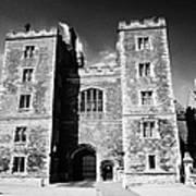 mortons tower lambeth palace London England UK Art Print